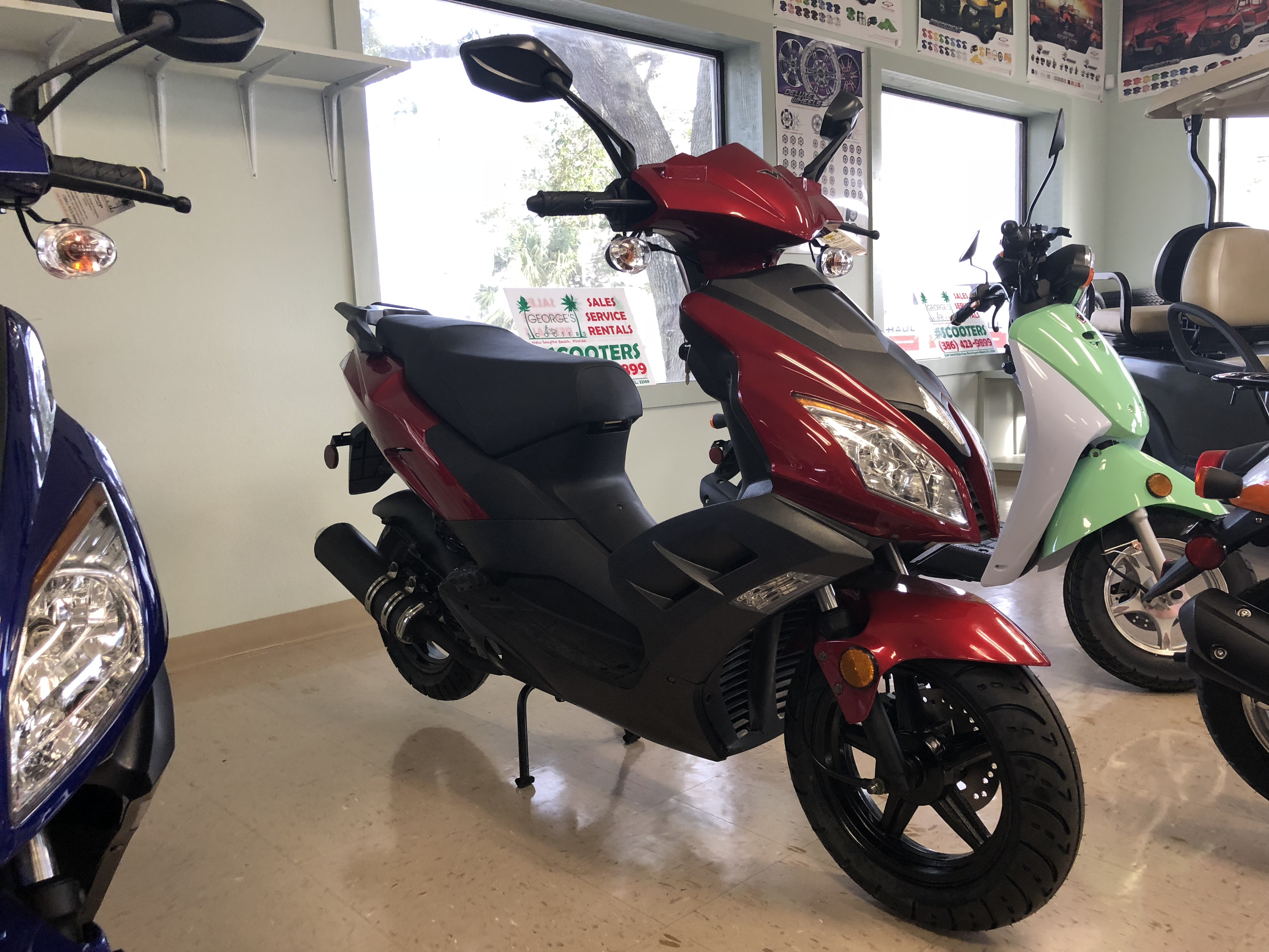 Under 50cc Scooters *Drivers License Required*